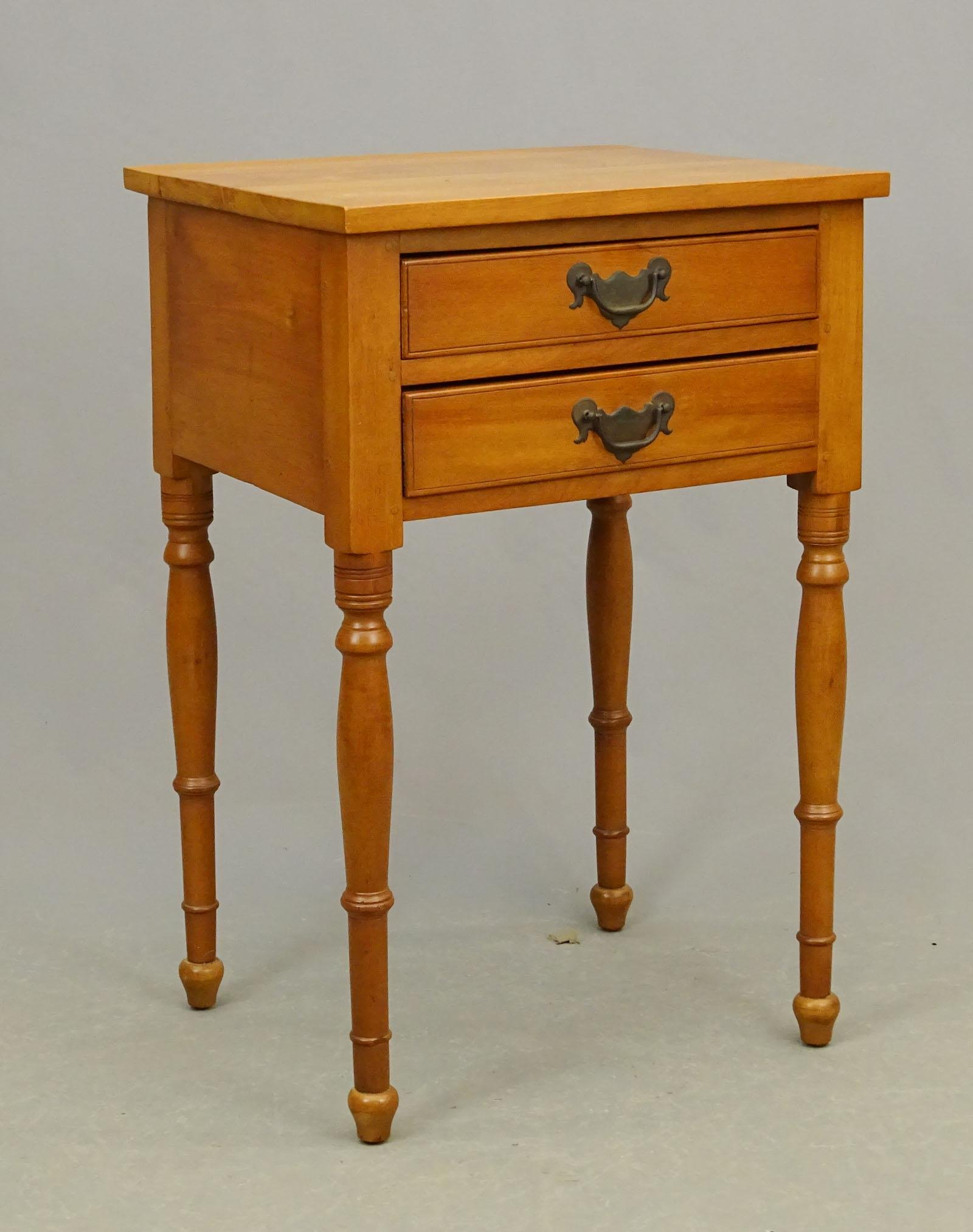 19tth c. Two Drawer Stand