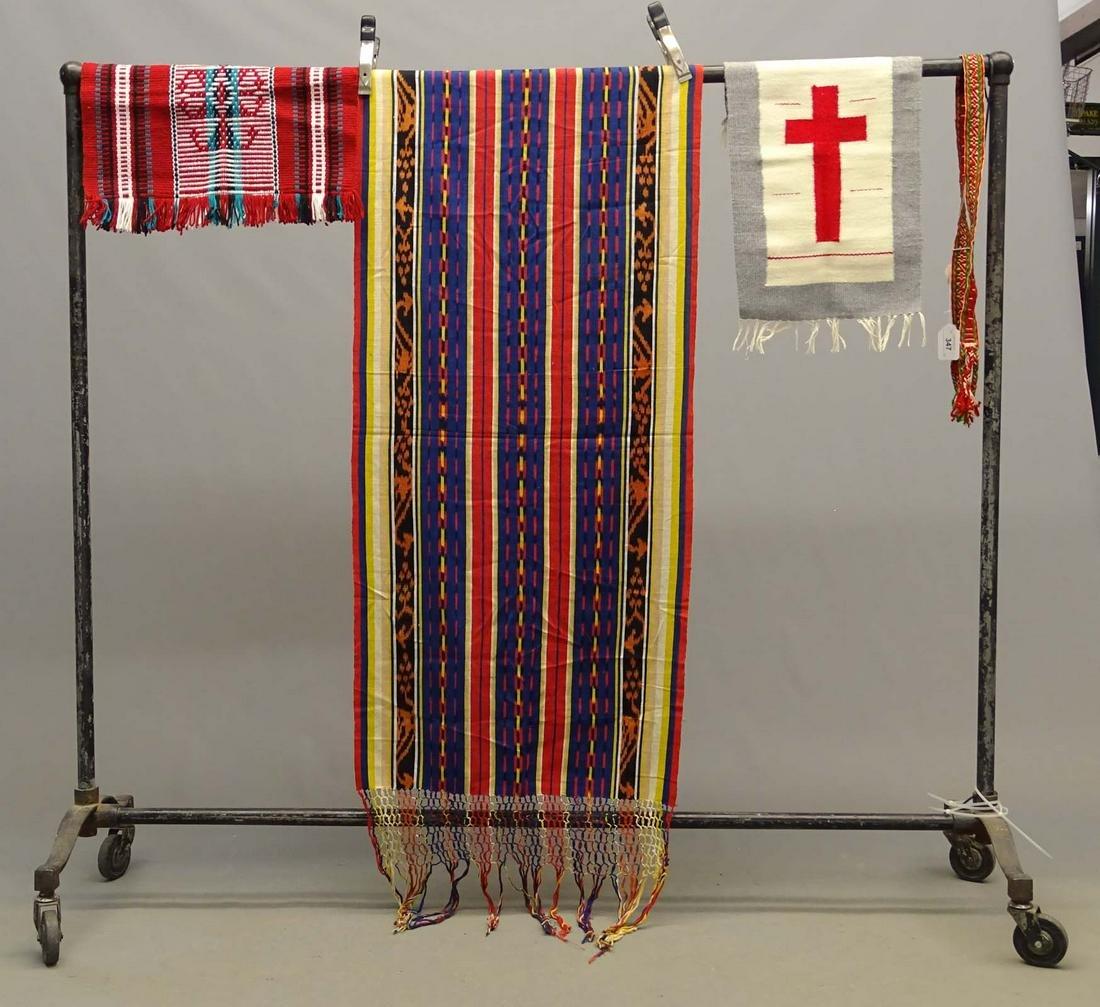 Lot of Navajo & Mexican Textiles