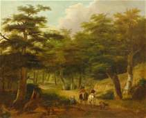 Continental School Landscape With Road