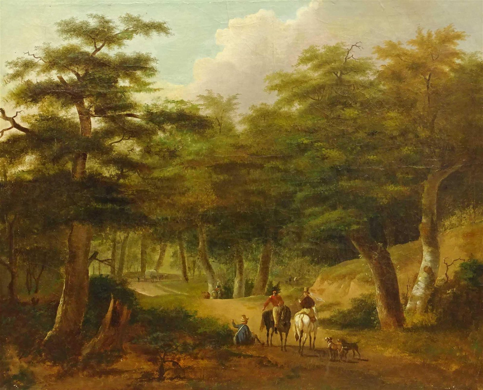 Continental School, Landscape With Road
