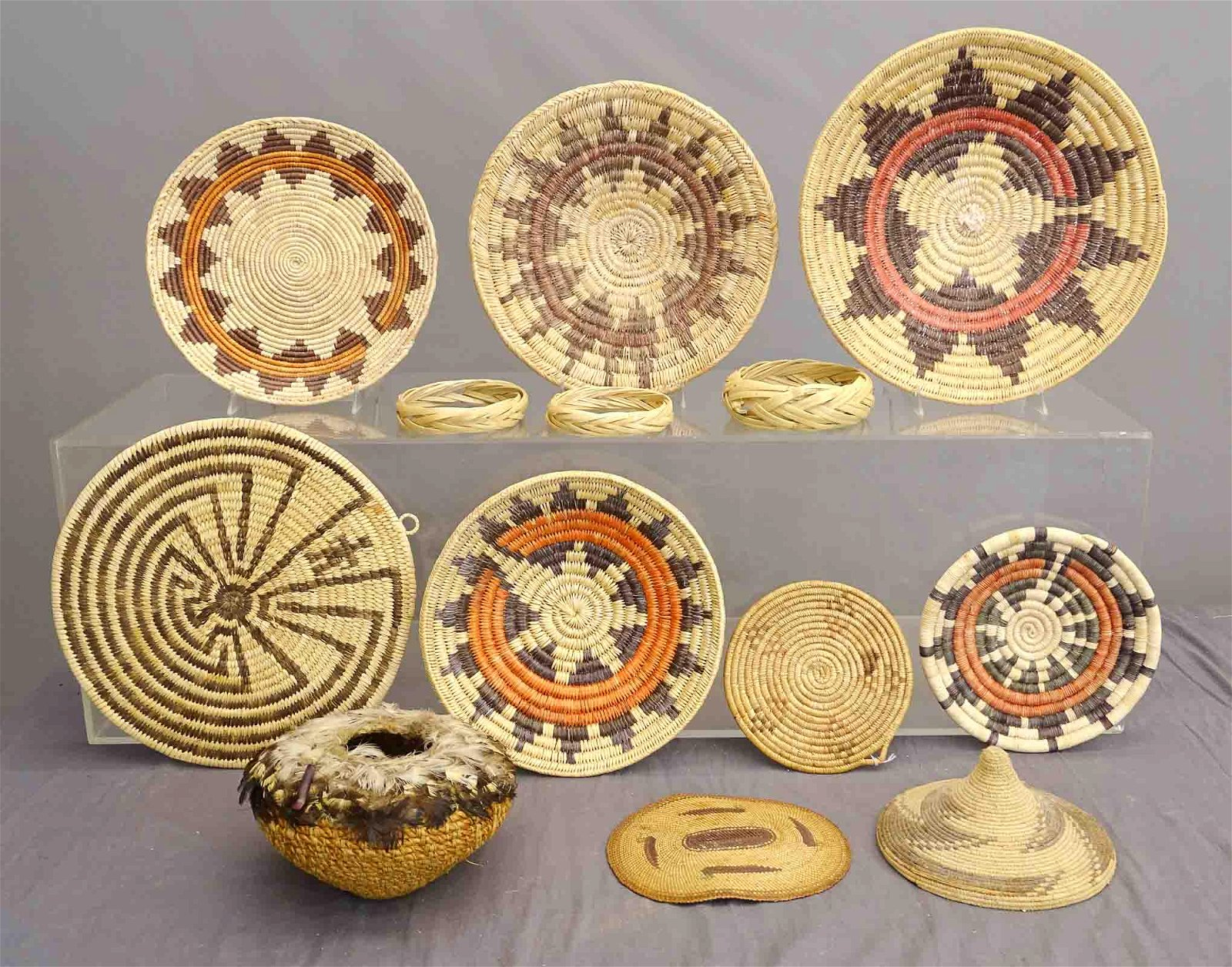 Native American Plaques & Baskets