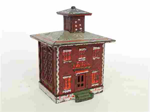 Early Cast Iron Cupola Building Bank