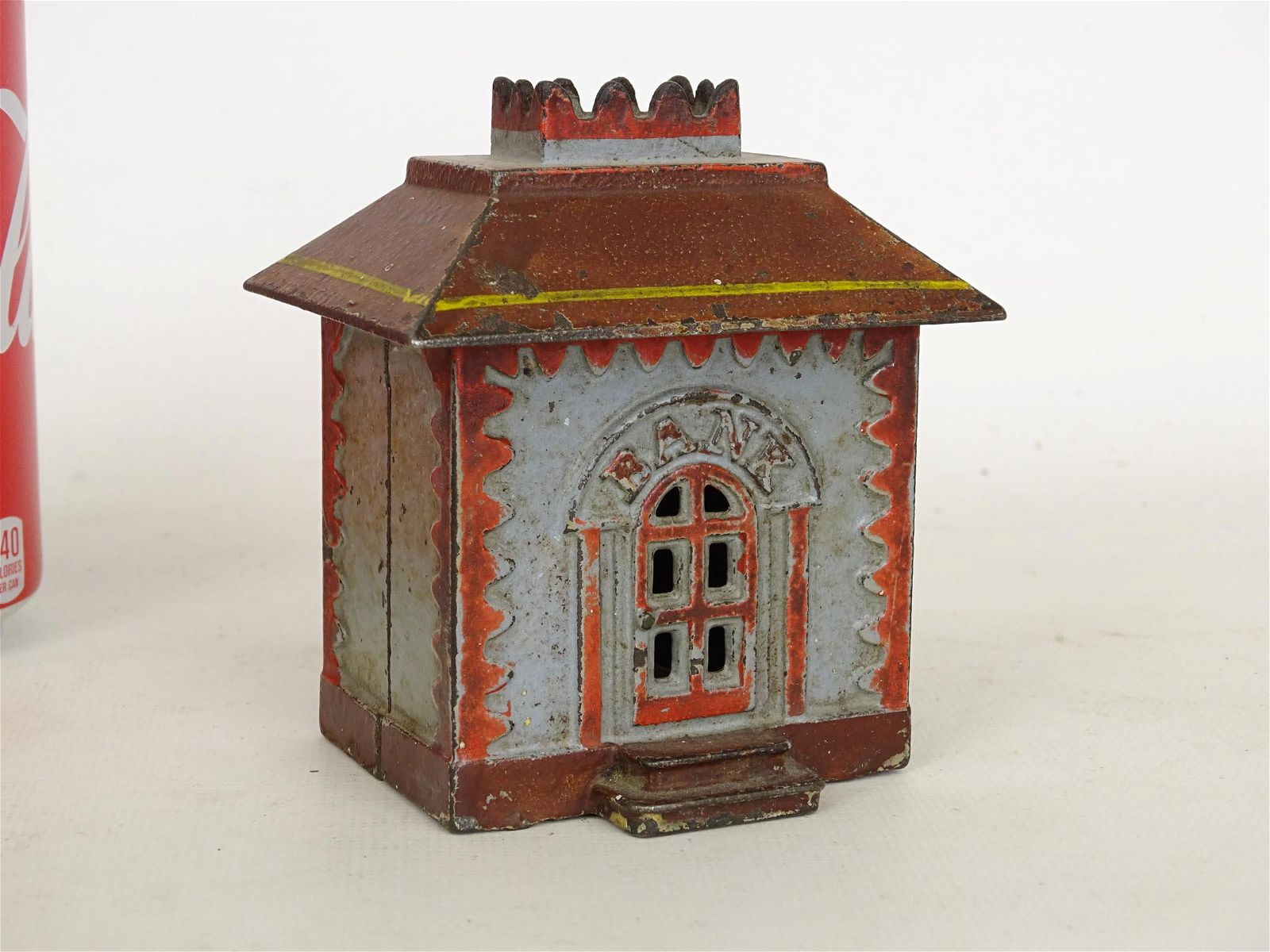 Early Cast Iron Building Bank