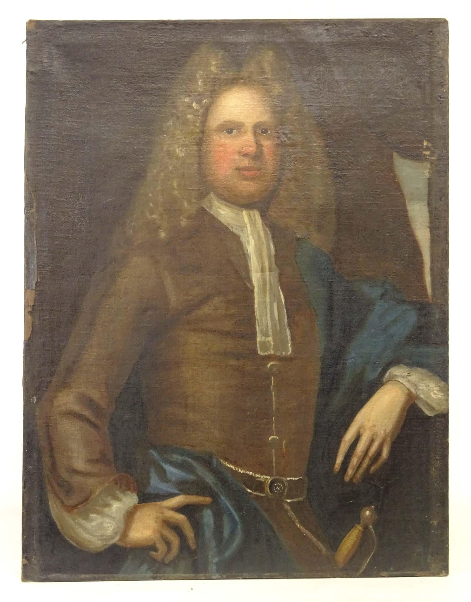 Continental School, 18th c. Portrait