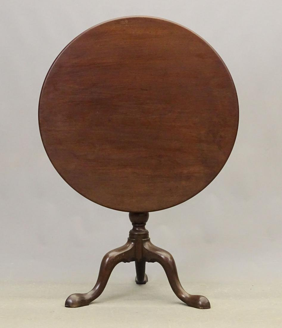 18th c. Chippendale Mahogany Tea Table