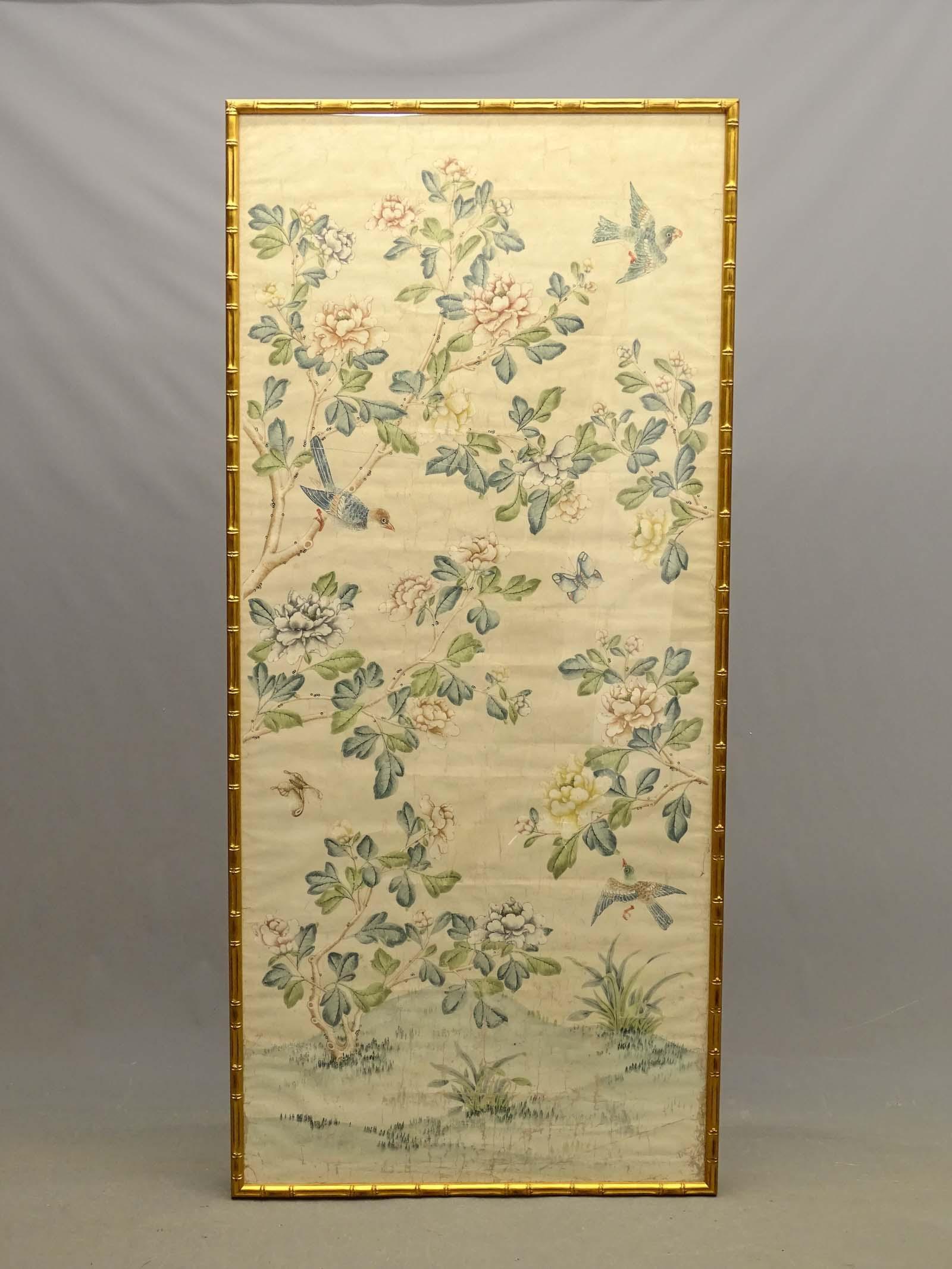 Framed Wallpaper Panel