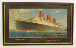 Vintage Ship Print
