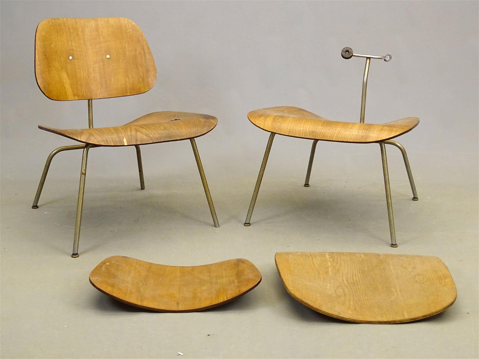 Pair Eames Chairs