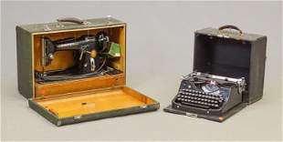 Mercedes Typewriter & Sewing Machine