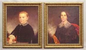 Pair Portrait Canvas Prints