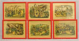 Currier And Ives Darktown Series Prints