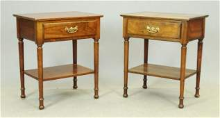 Pair Stickley End Tables