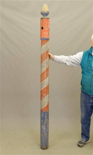 19th c. Barber Pole