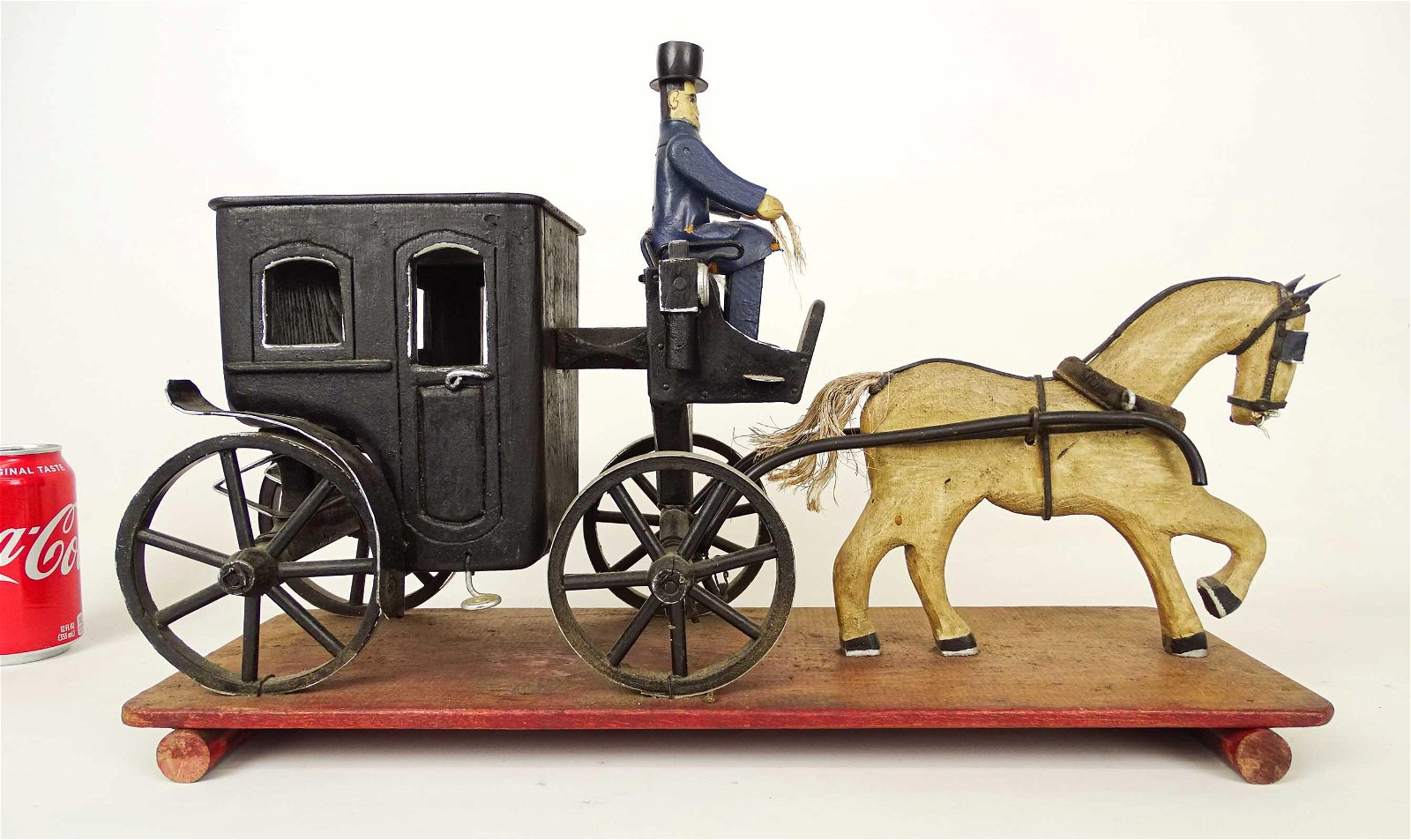 Folk art Horse And Carriage
