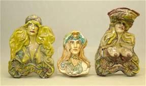 Set of Folk Art Sculptures