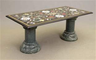 Indian Inlaid Marble Table