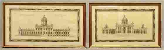 English Antique Architecture Studies (2)