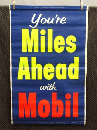 C. 1950's Automobile Roll-Up Poster