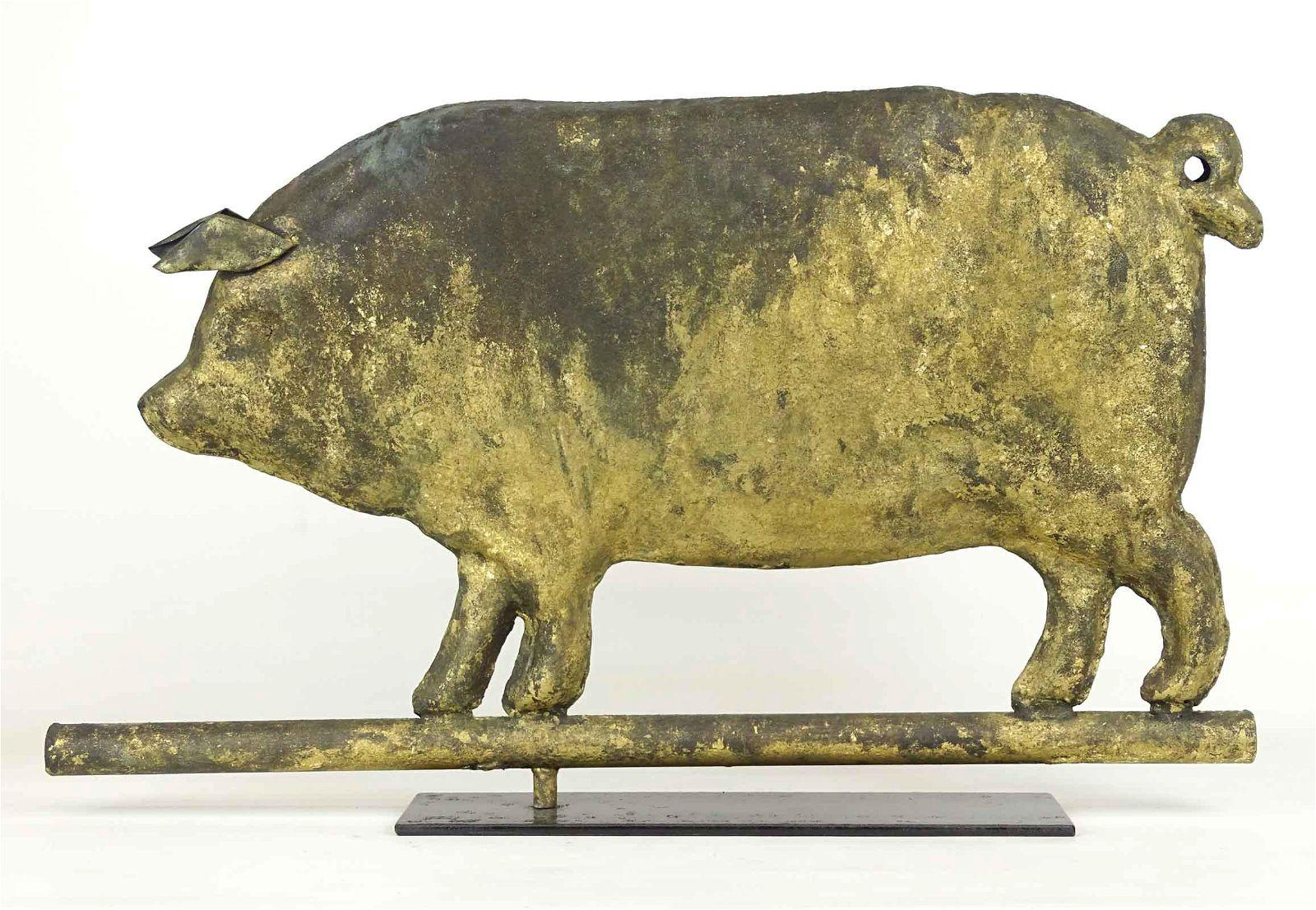 Pig Weathervane