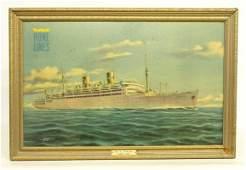 Vintage Oceanliner Print