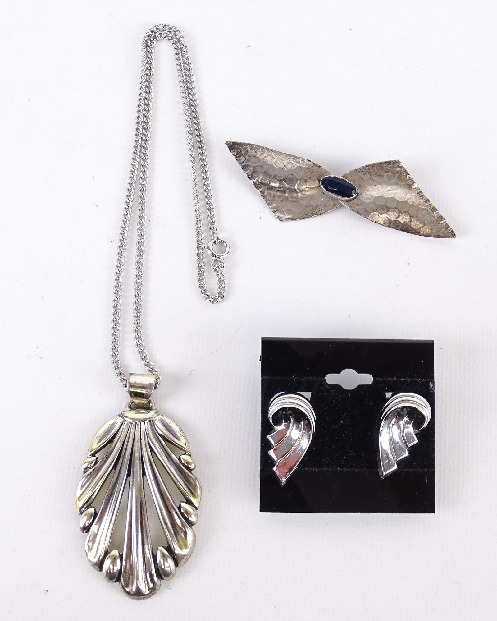 Silver Costume Jewelry Lot