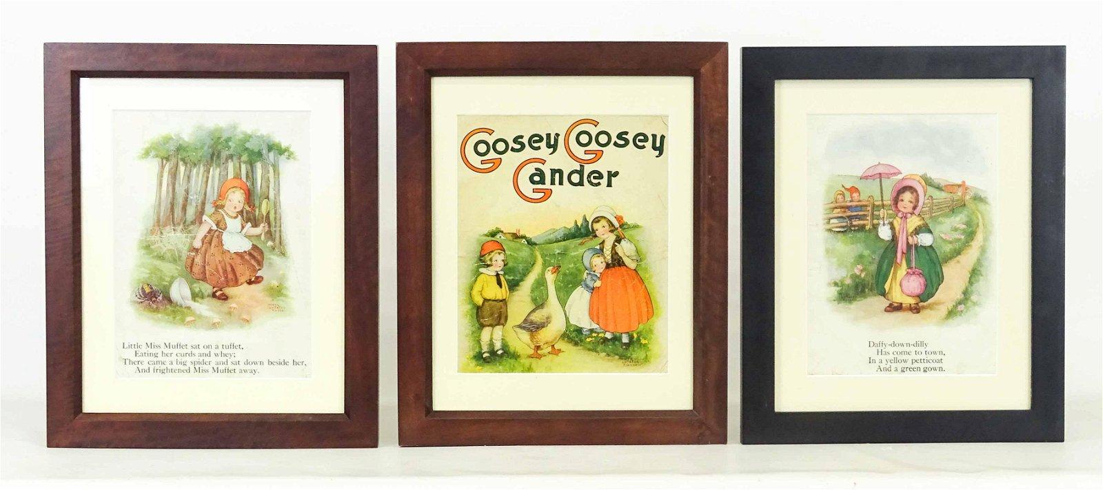 Nursery Rhyme Prints