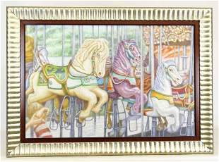 Decorative Print on Canvas