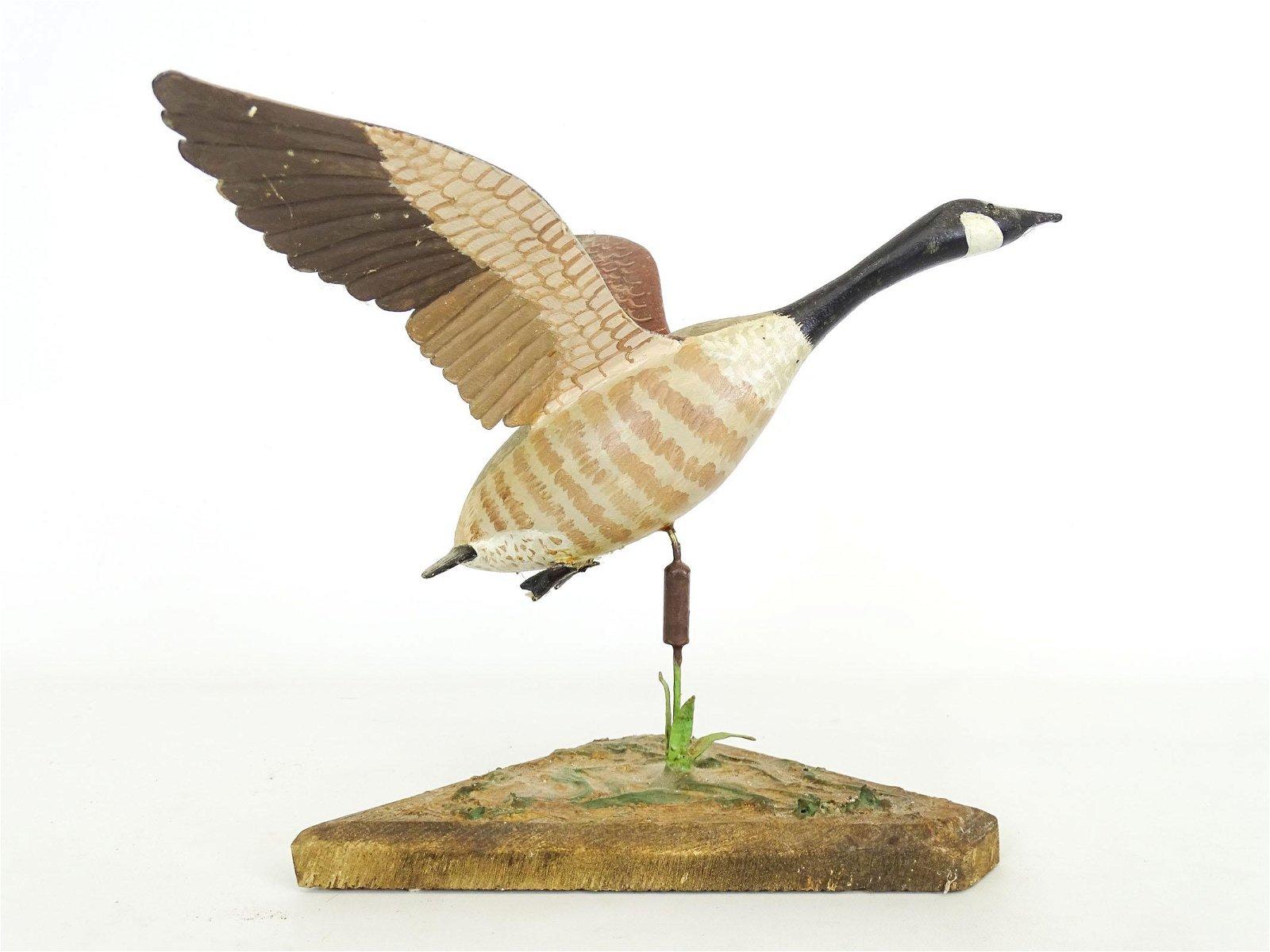 Canada Goose Bird Carving