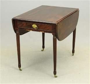 19th c. Sheraton Pembroke Table