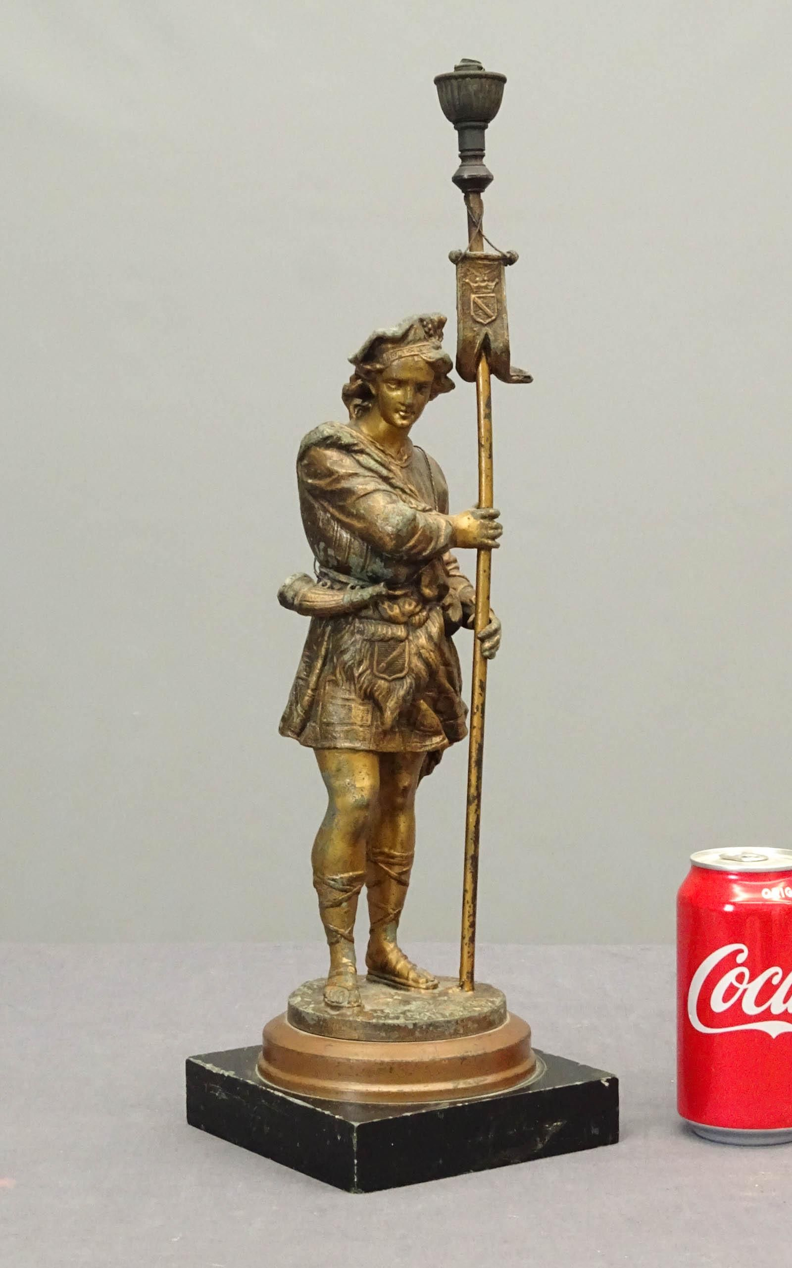 Cigar Store Figural Gas Lighter