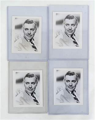 Clark Gable Hollywood Promotional Photos