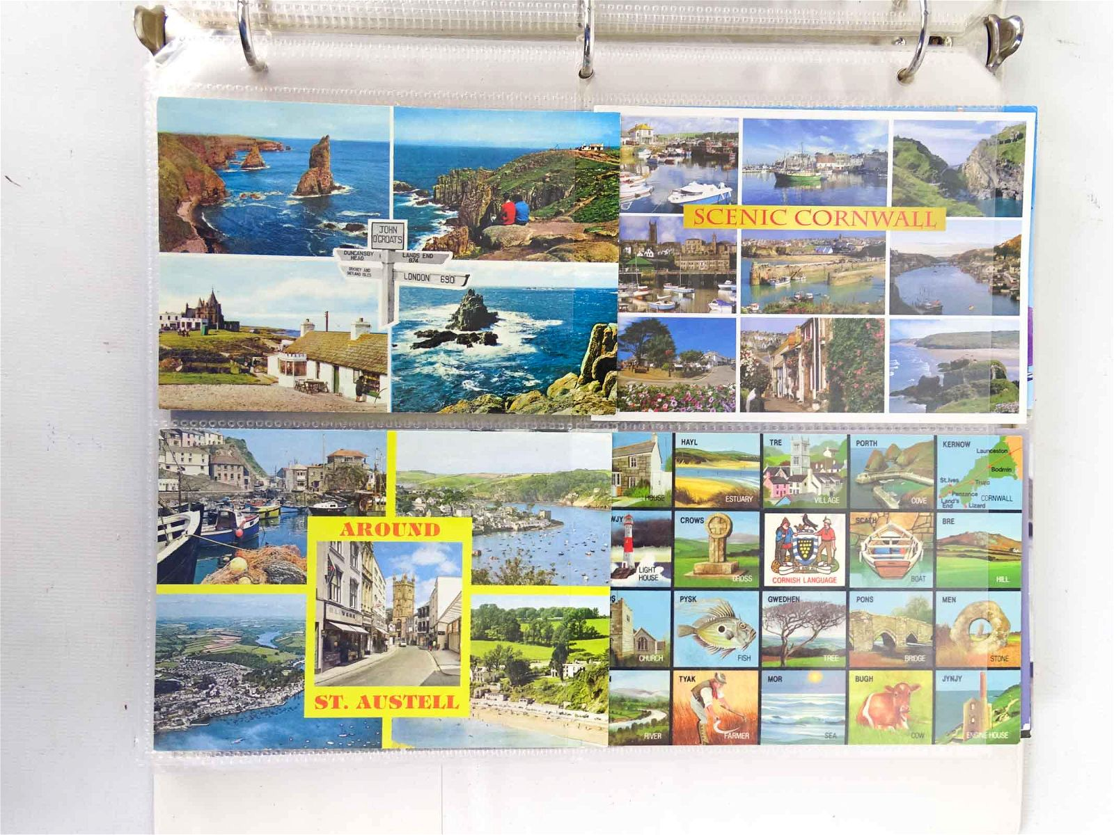 Travel Postcards, Great Britain & Ireland
