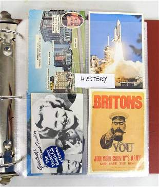 104 Collectible Postcards