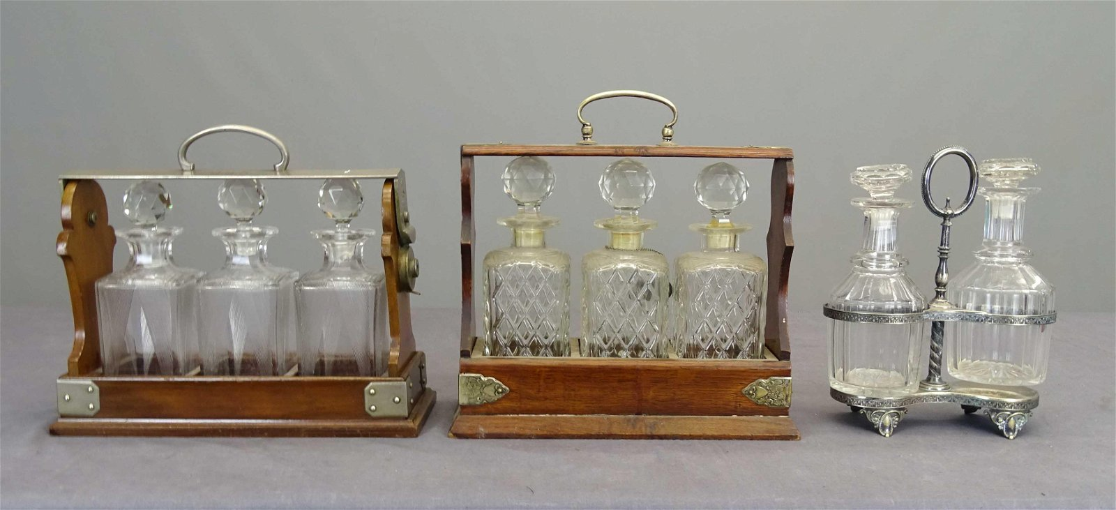 Early Liquor Decanter Sets (Tantalus)