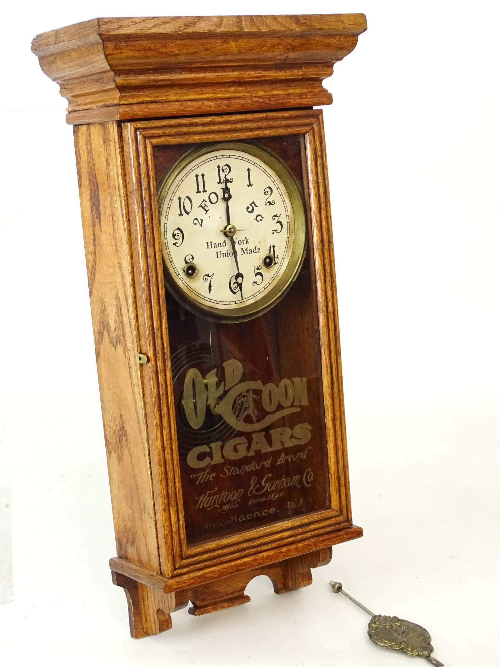 Regulator Advertising Clock