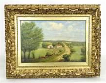 American School, New England Farm Scene