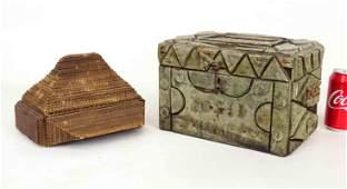 Tramp Art Boxes