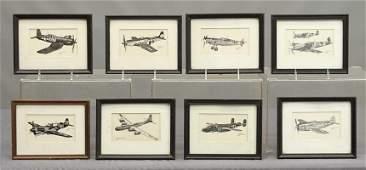 Vintage Airplane Prints