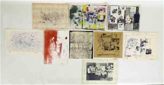 Reginald Pollack Art Portfolio 9 Prints