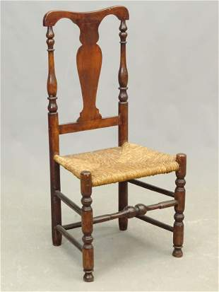 18th c. Queen Anne Side Chair