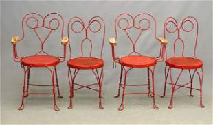 Wrought Iron Cafe Chairs