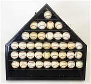 Autographed Baseballs Collection