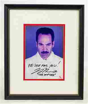 Larry Thomas Seinfeld Autograph
