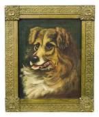 Painting, Dog Portrait