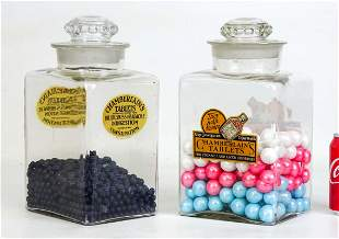 Advertising Apothecary Jars