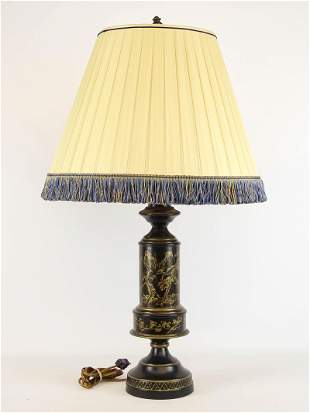 Decorative Tole Lamp
