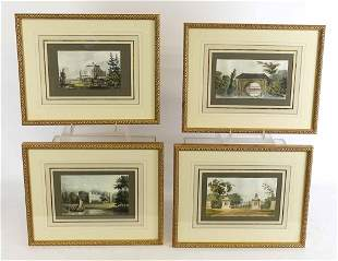 Set of English Landscape Prints