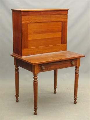 19th c. Walnut Desk