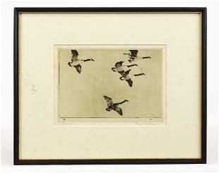 Frank Benson Duck Print