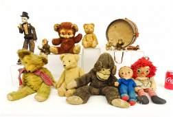 Teddy Bear & Misc. Lot